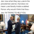 Pence is normie as fuck. Faggit.