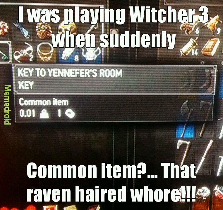 Witcher 3 rocks - meme
