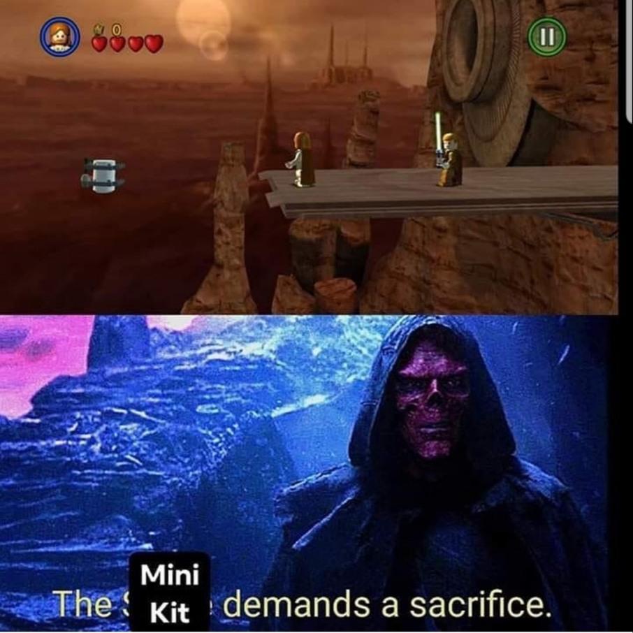 Memes and Lego dreams