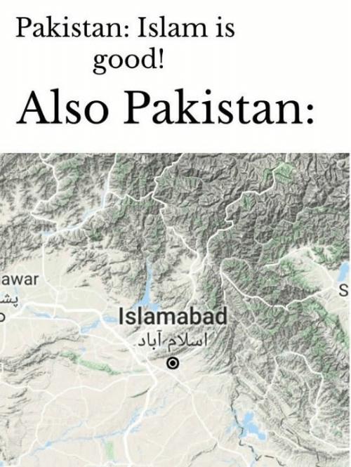Islamabad >:( - meme