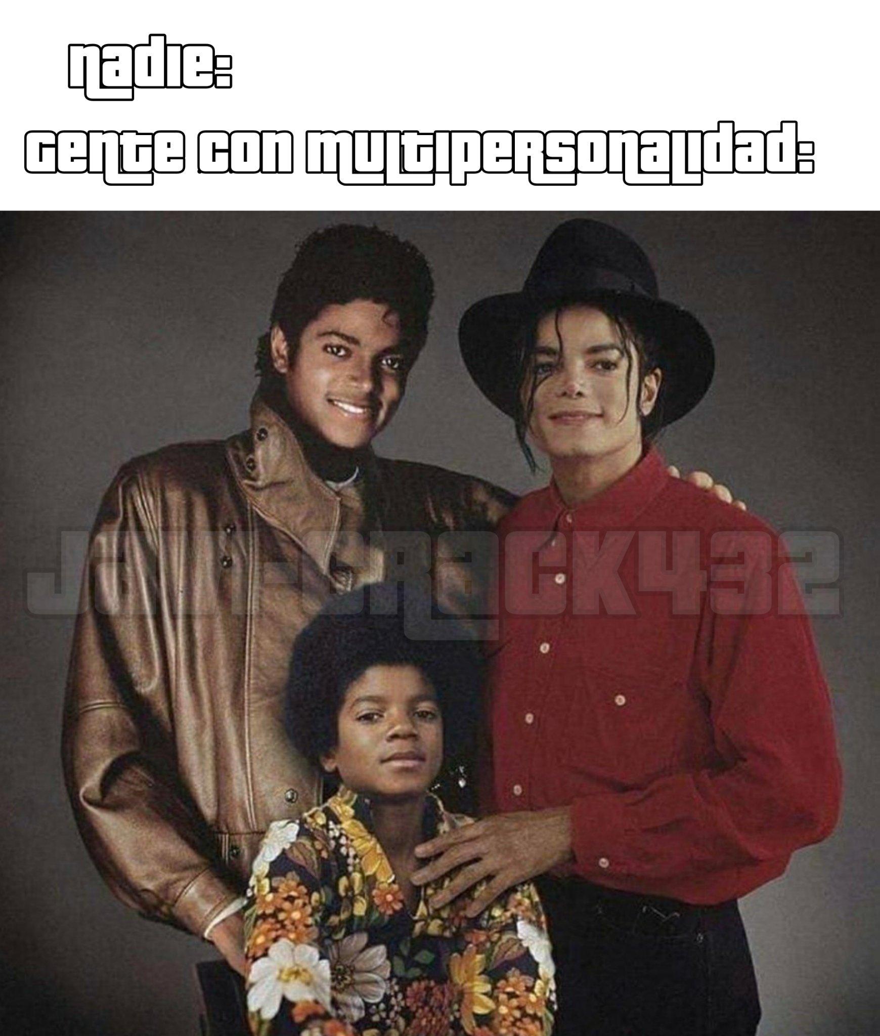 Noticias de última hora Michael Jackson ha abusado de Michael Jackson con la ayuda de Michael Jackson . Bromeo , sé que Michael Jackson es inocente - meme