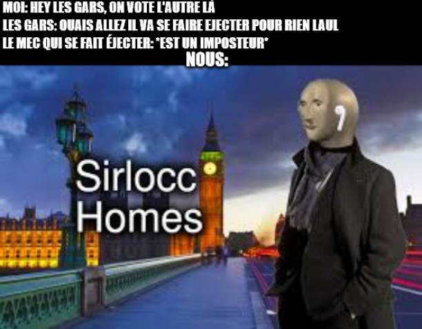 histoire vécue! (among us) - meme