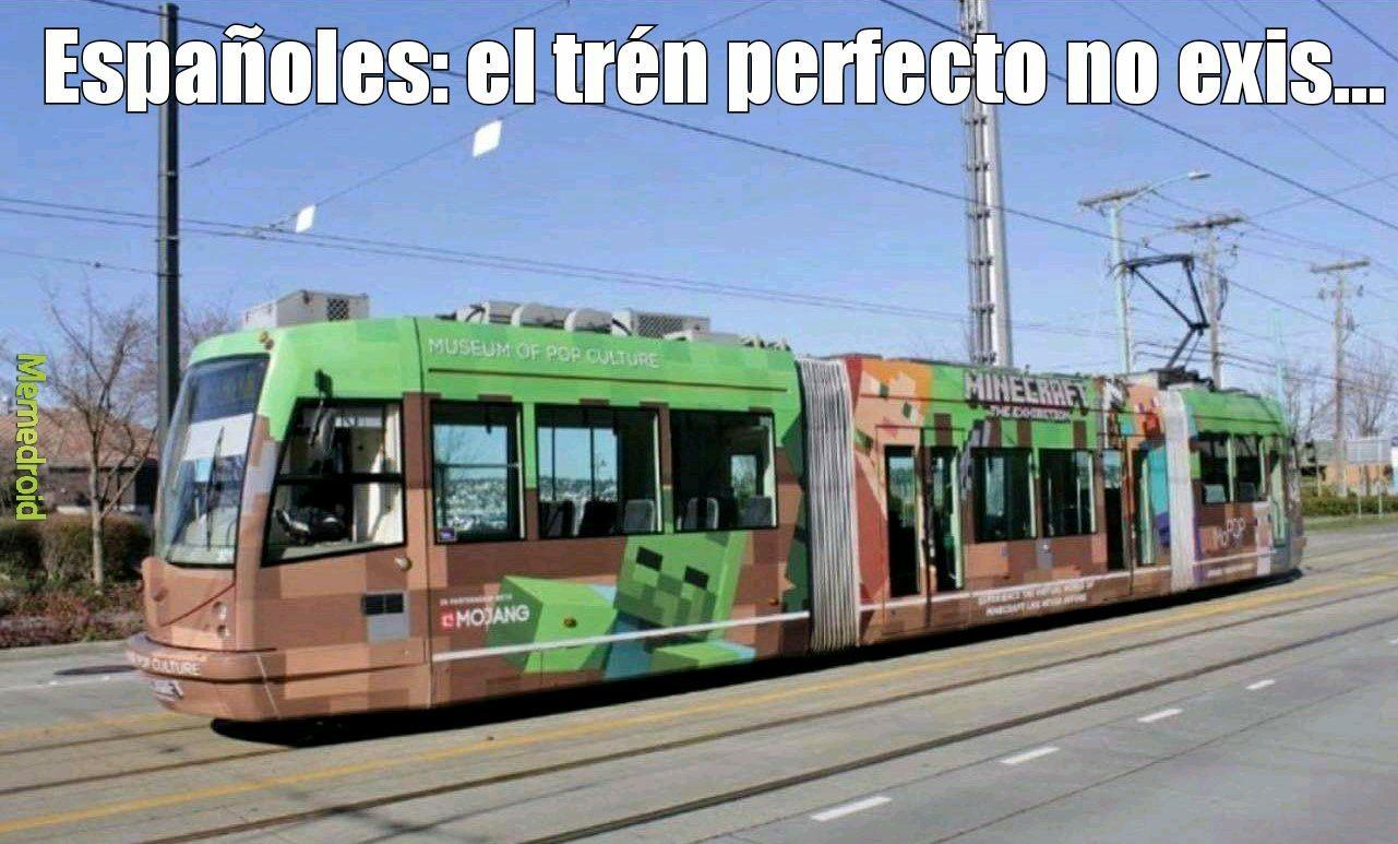 Españoles - meme