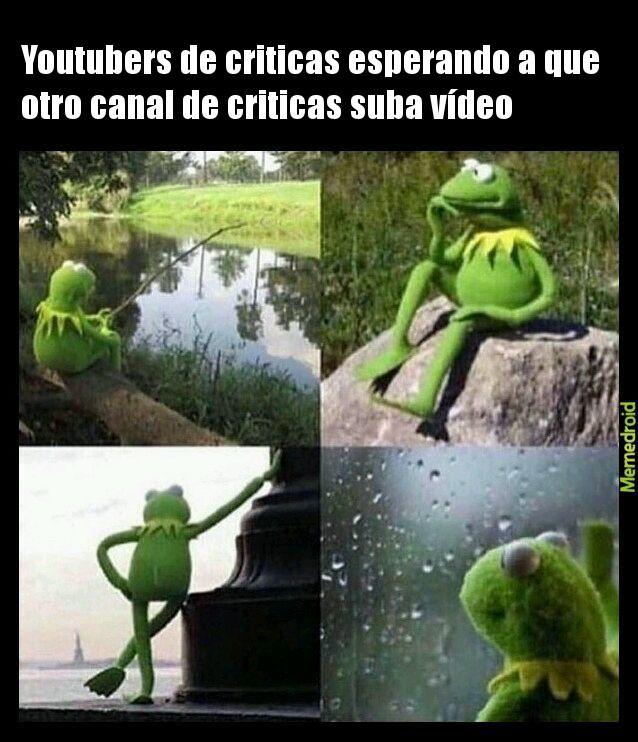 Youtubers de criticas - meme