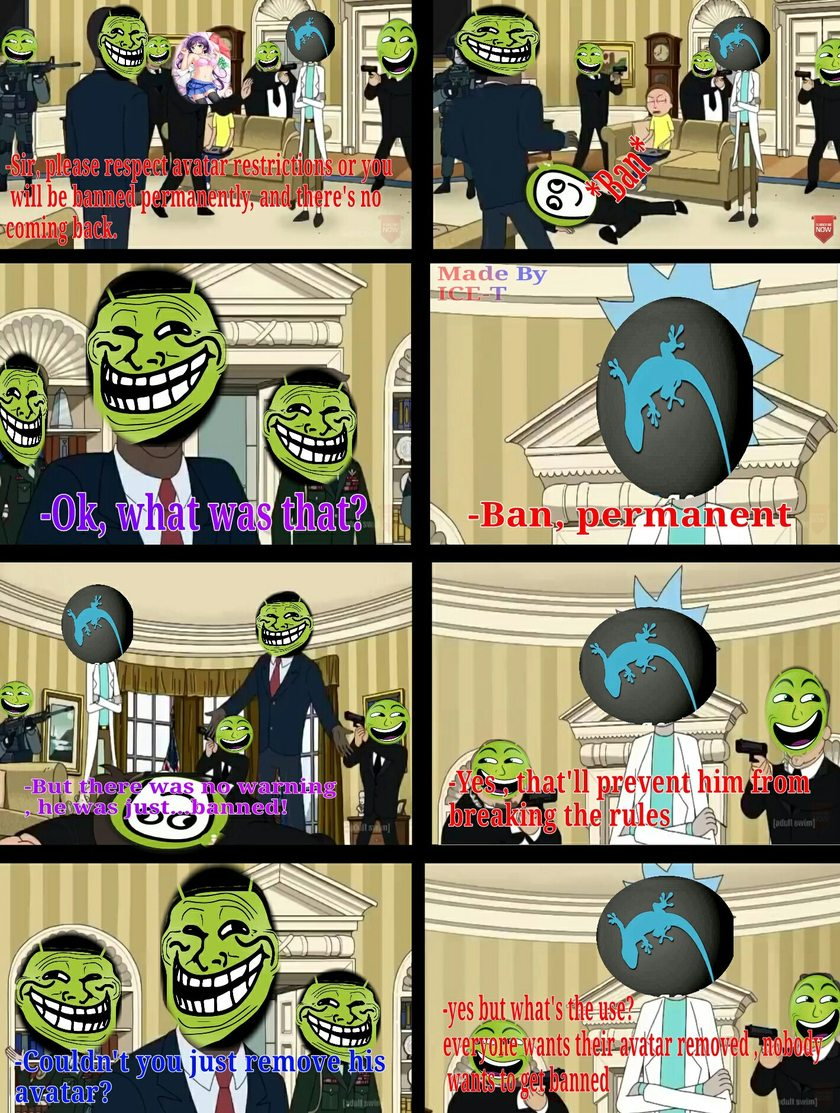 Its not the only show with a cancerous fandom , just ignore it and enjoy :) . - meme