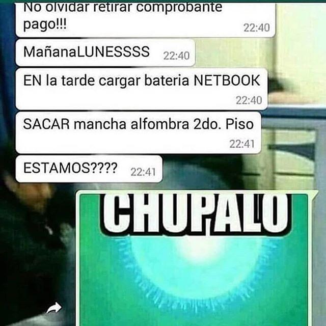 chupalo - meme
