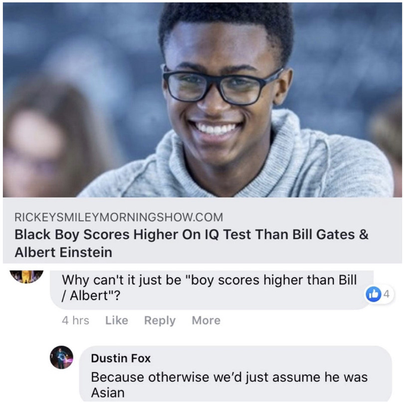 he has a point - meme