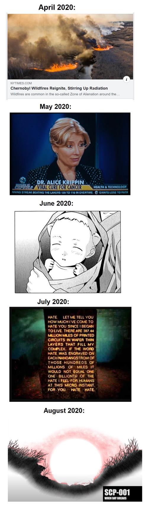 September 2020: Third Impact - meme