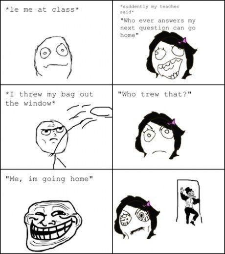 Problem teacher? - meme