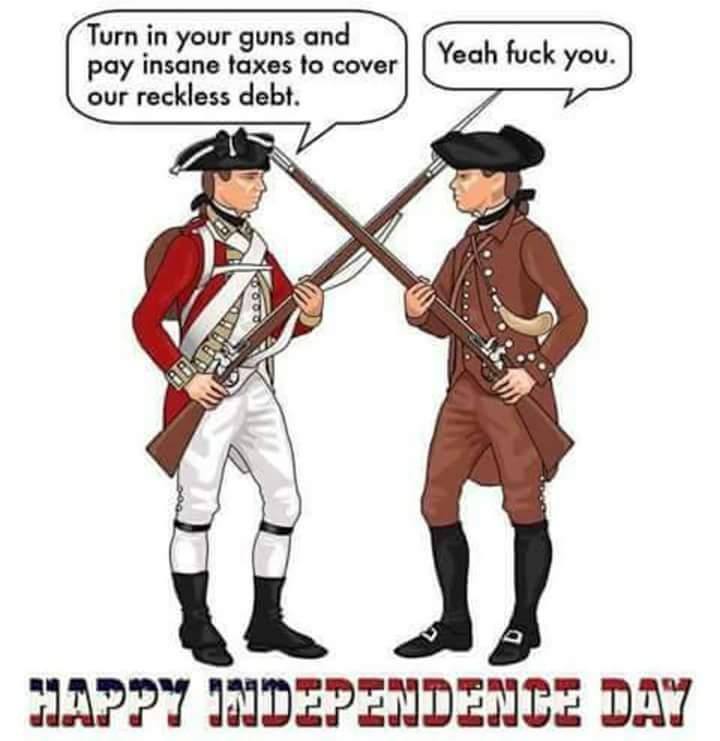 Happy Treason Day! - meme