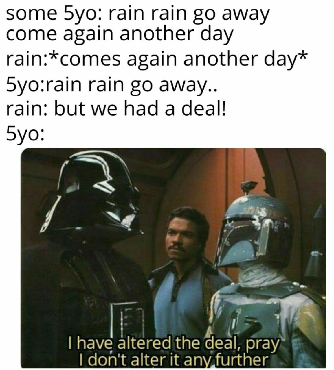 Force is so strong with him. - meme