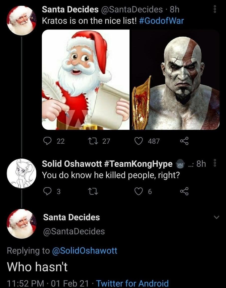Kratos best dad - meme