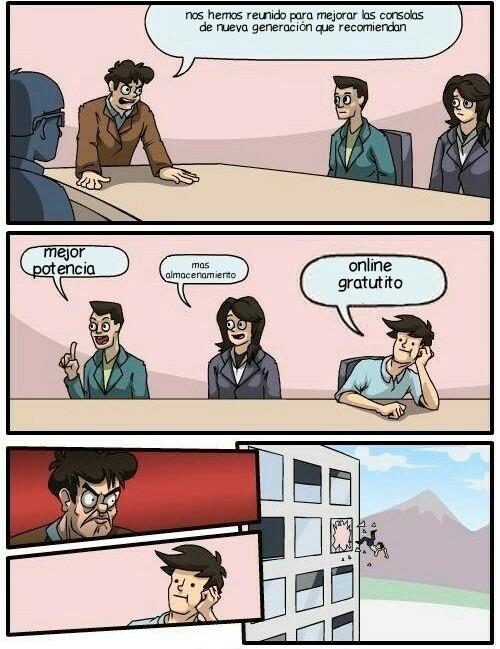 Que cuesta poner online gratis - meme