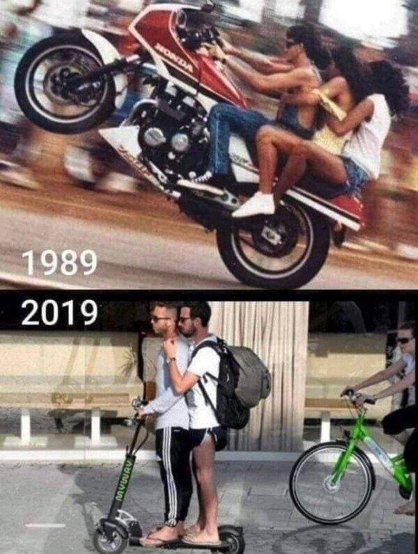 Como cambian los tiempos - meme