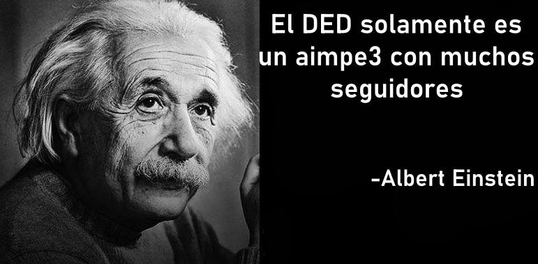 Einstein si fuera basado - meme