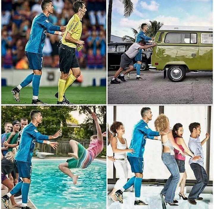 Ronaldo CR7 - meme
