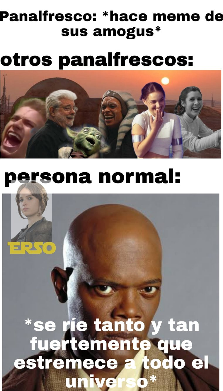 Otro meme más de star wars