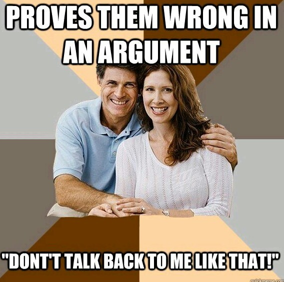 My parents literally do this - meme