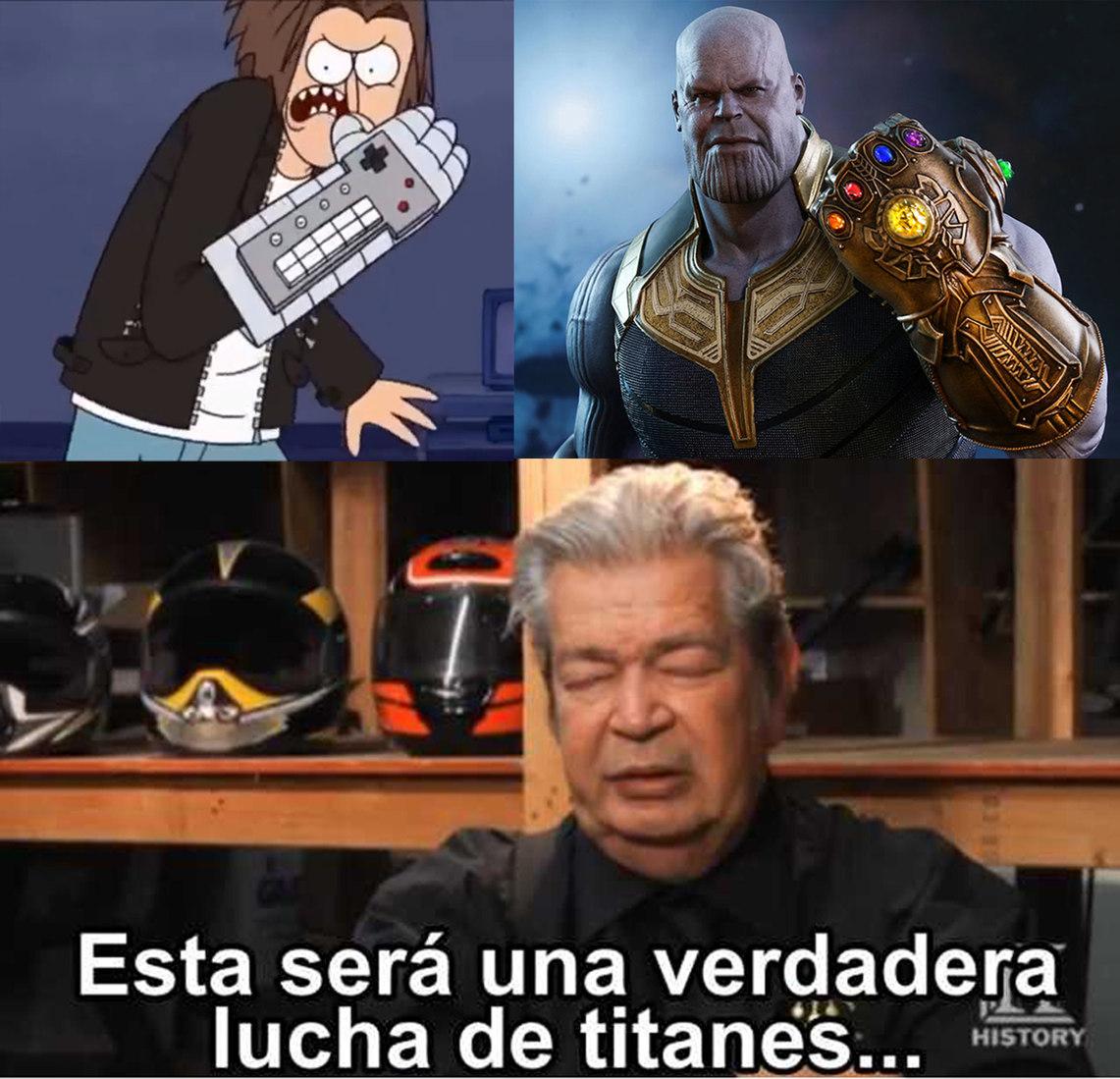 Supremo vs Infinito - meme
