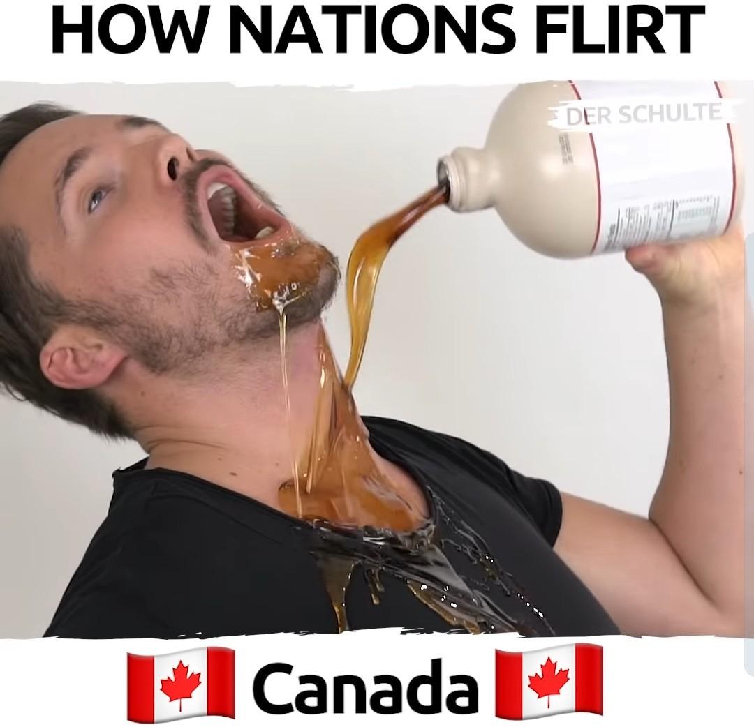 Maple syrup - meme