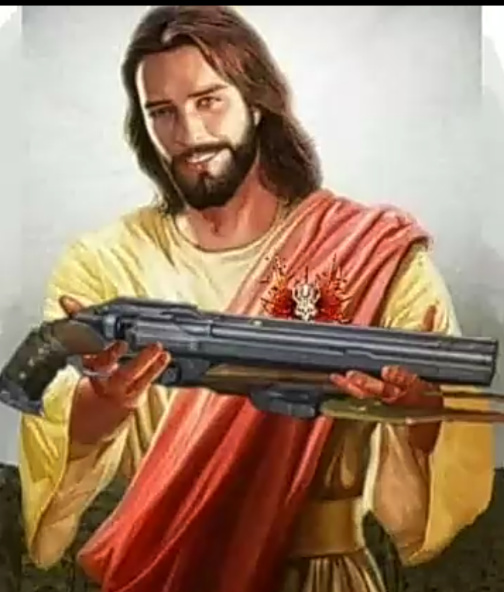 Não podemos esperar que Jesus faça tudo - meme