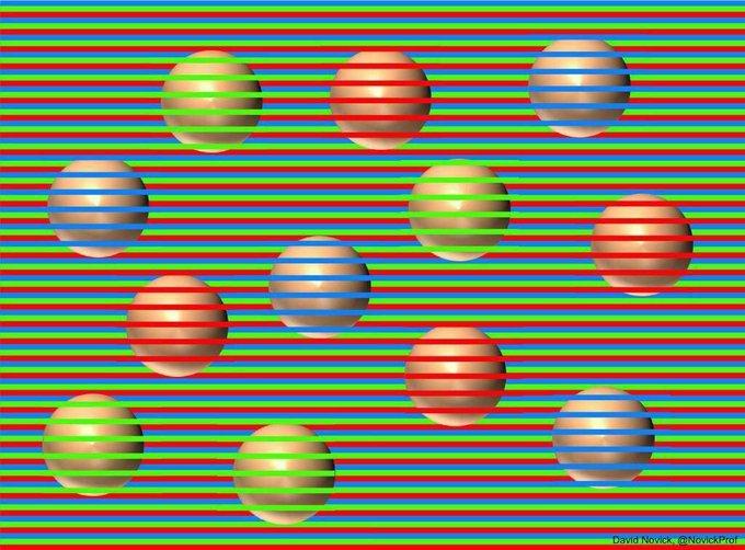 Todas las bolas son del mismo color - meme