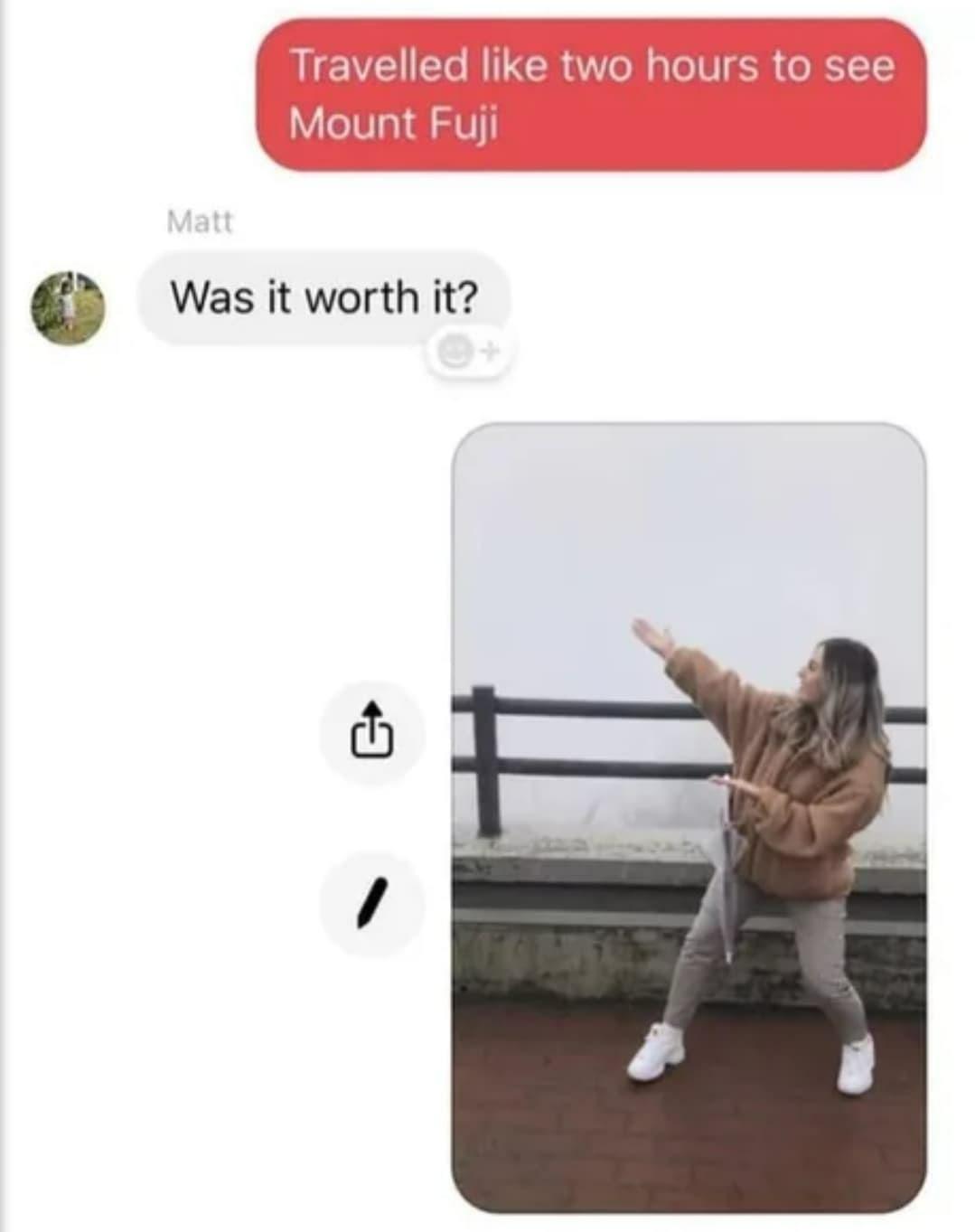 See the fog - meme