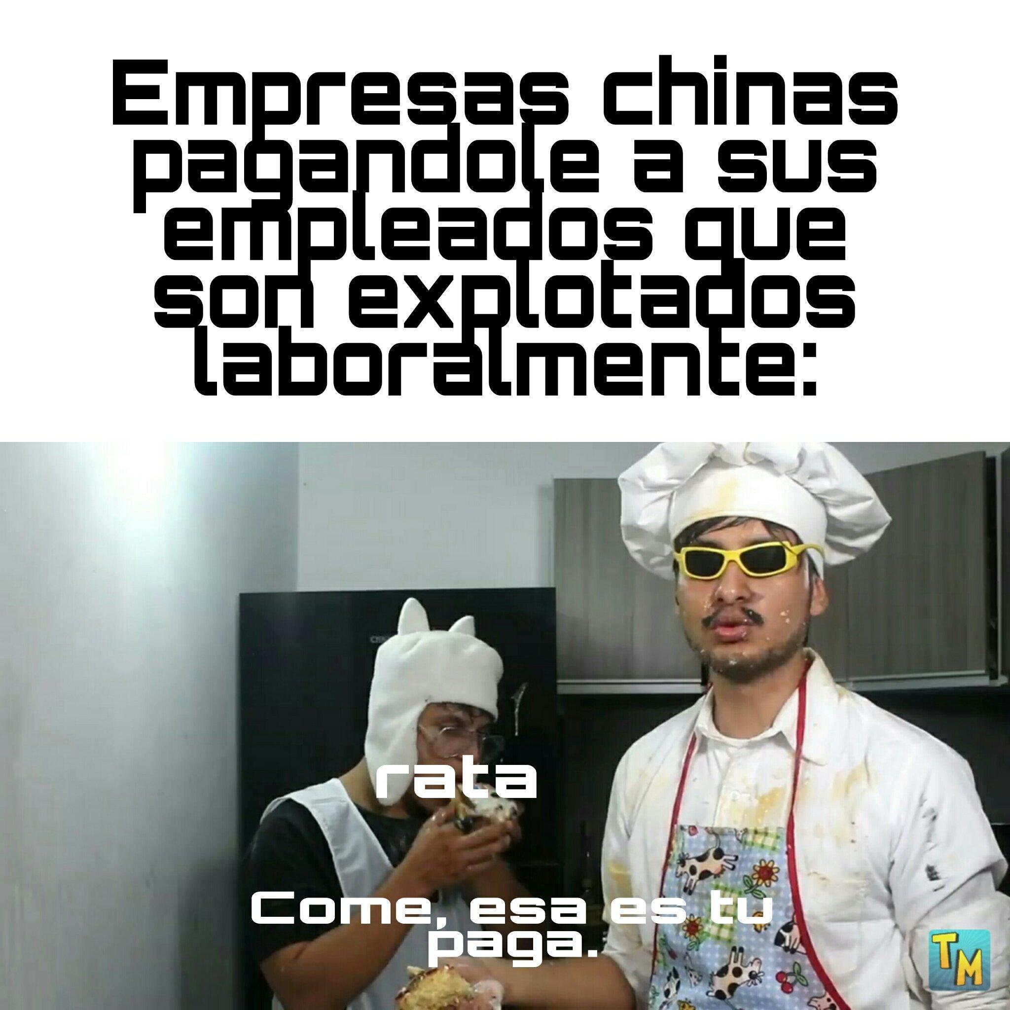 Tragan menos que los venezolanos - meme