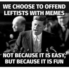 Because it is... er uh.... fun. - meme