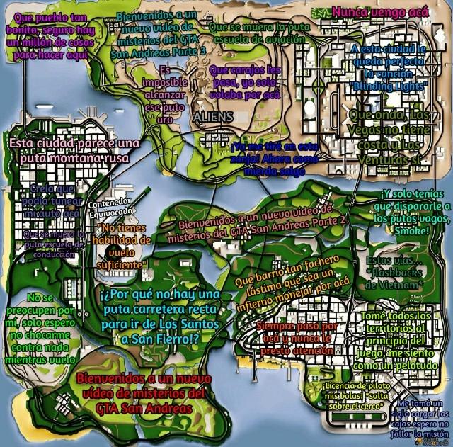 Conoces este mapa mas que tu propio barrio, y no puedes negarlo - meme