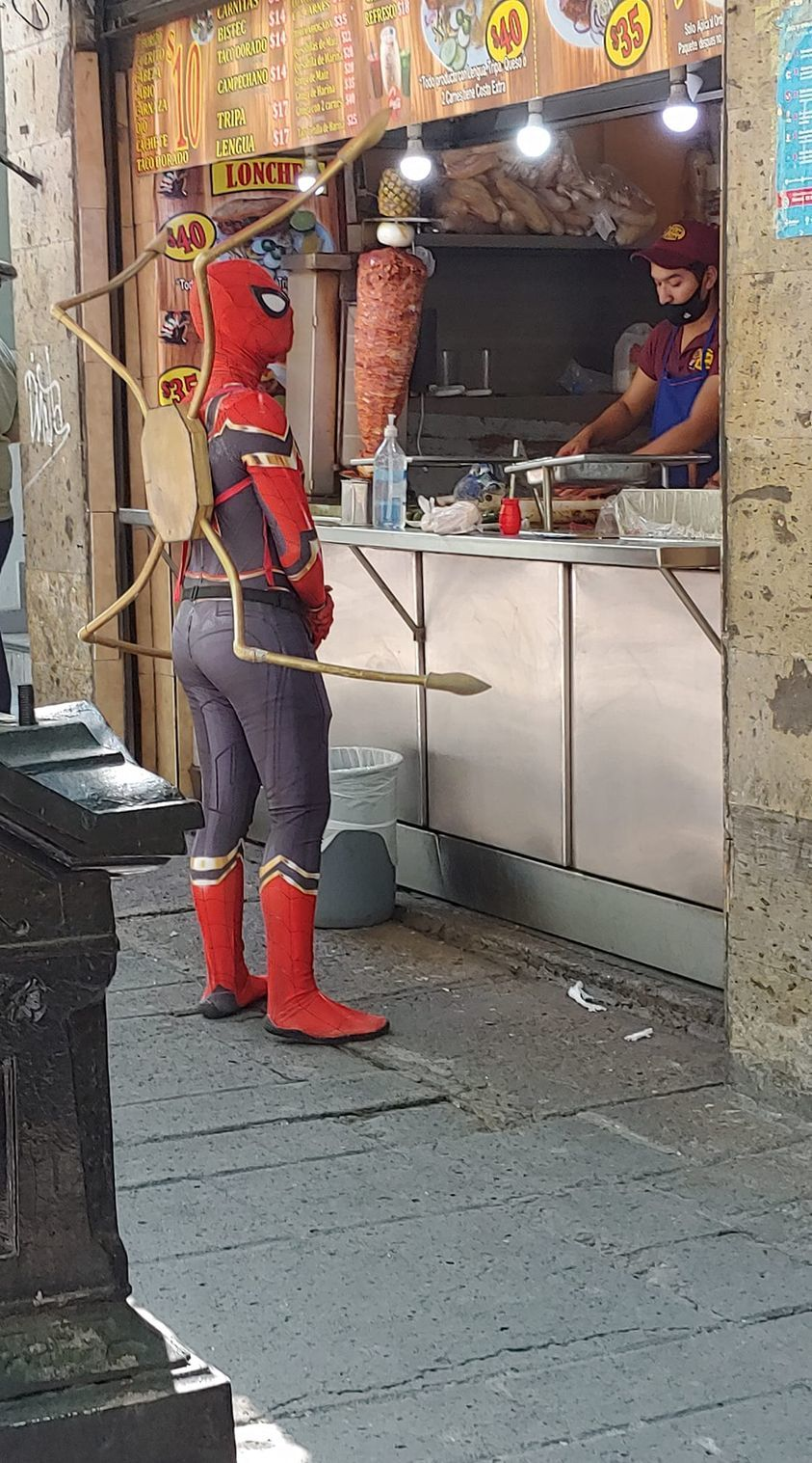Yo cuando sea spiderman - meme