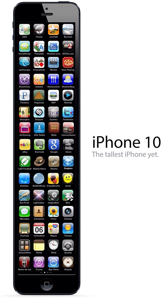 iPhone 10 . - meme