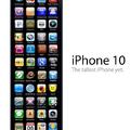 iPhone 10 .