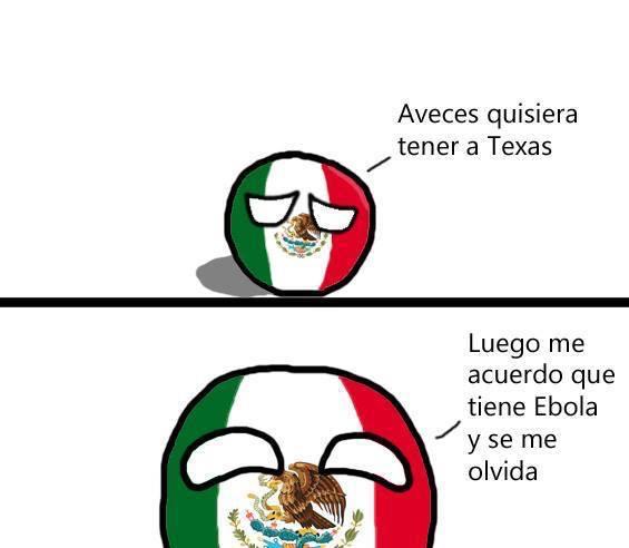 Texas y su ebola - meme