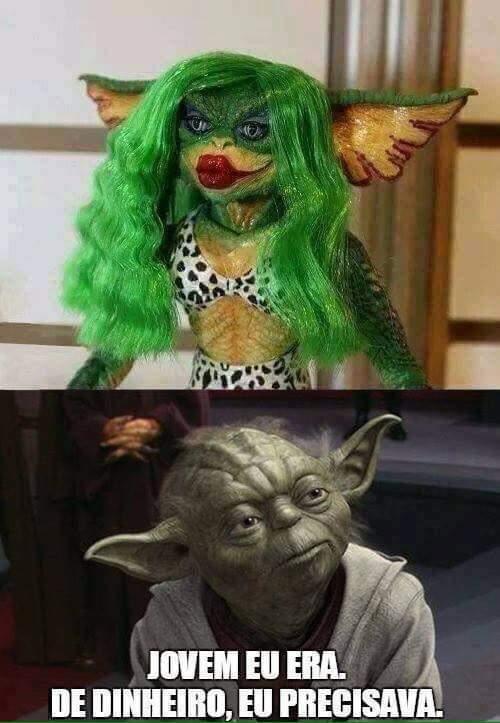 Yoda, me diz que é montagem - meme