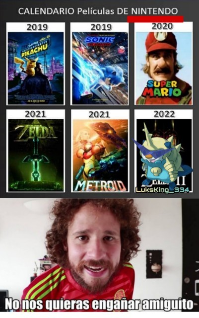 Nintendo no es SEGA - meme