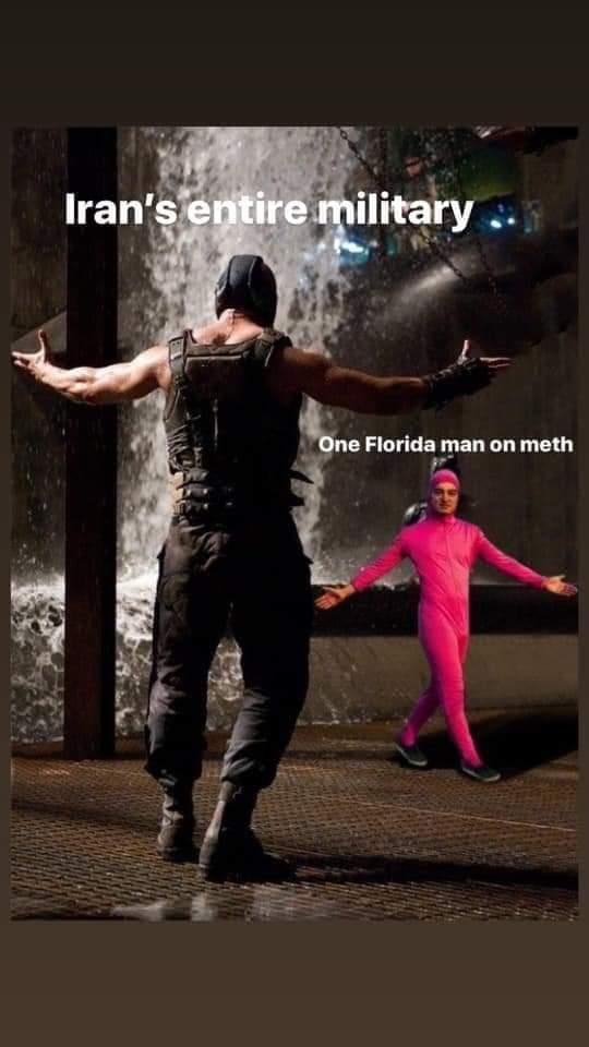 The Florida Man cometh - meme