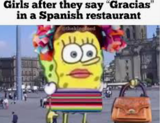 Spongebob girl - meme