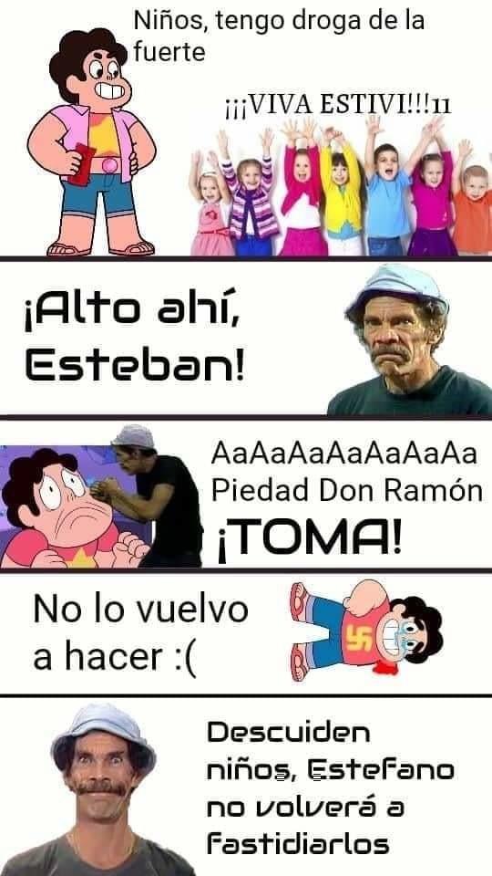 STEBAN MAMÓN - meme