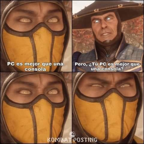 gamers kombat - meme