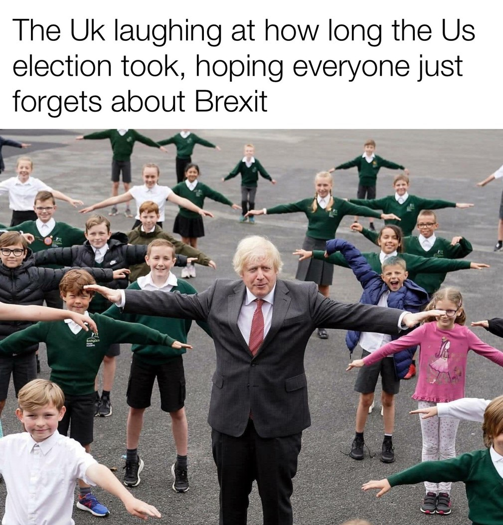 Brexit took us like 5 years :/ - meme