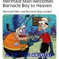 God Bless Mermaid Man and Barnacle Boy
