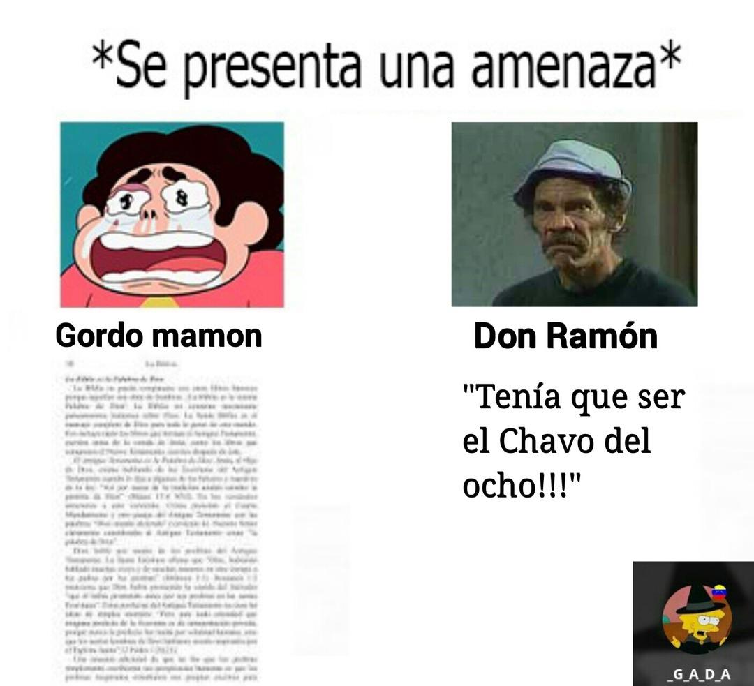 Don Ramón si que sabe - meme