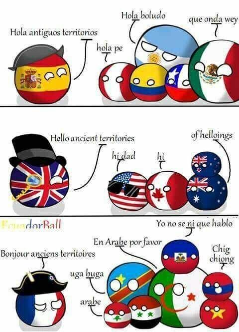 Les colonies françaises... - meme