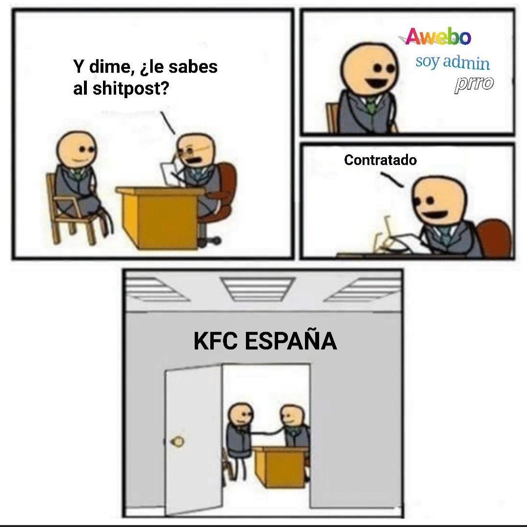 KFC España - meme