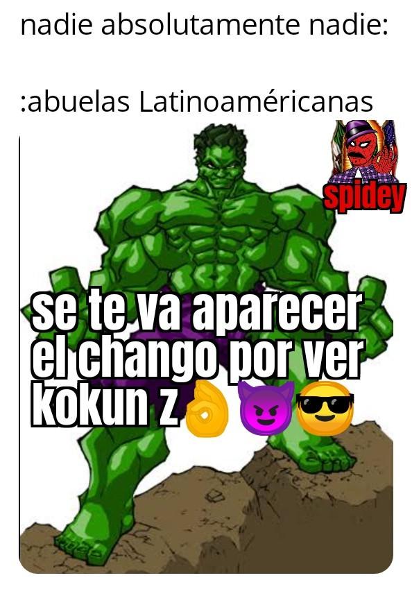 Contexto en México y algunas partes de centroamerica de dicen chango al diablo - meme