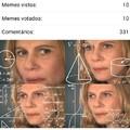 Quer dizer q ele fez 33 comentários por meme?