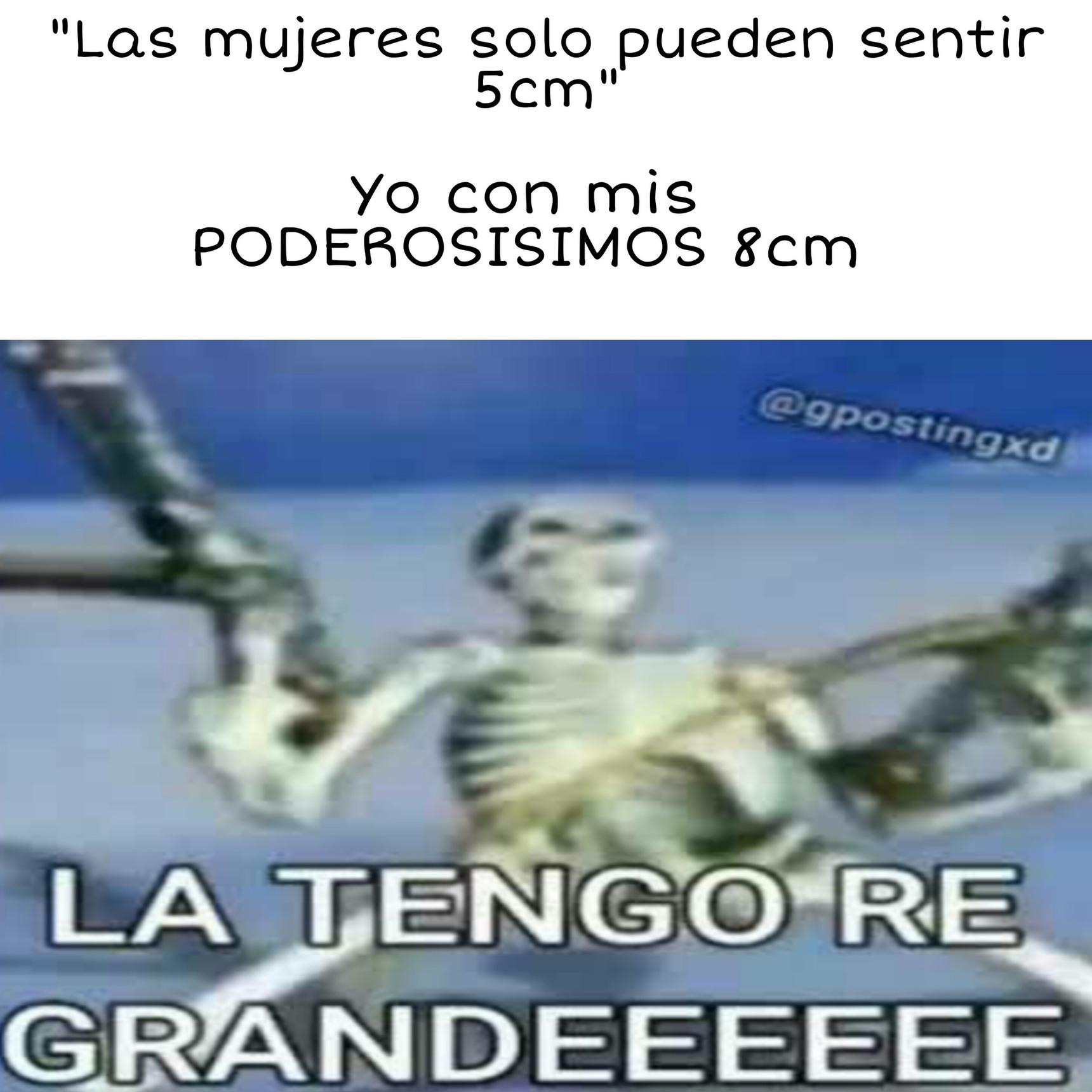 LA TENGO RE GRANDEEEEEE - meme
