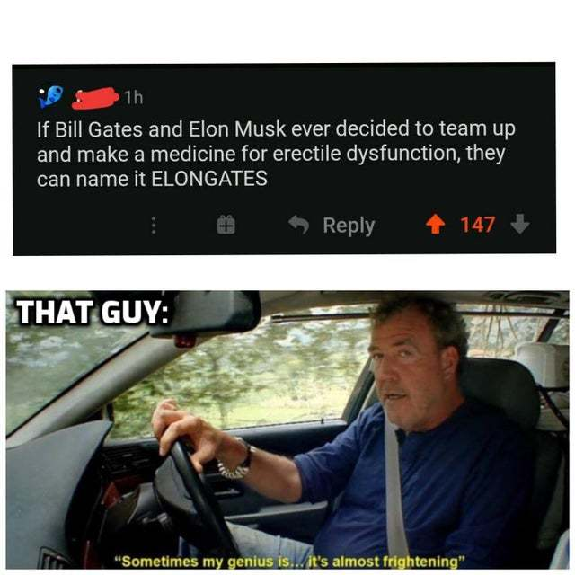 If Bill Gates and Elon Musk ever decided to team up... - meme