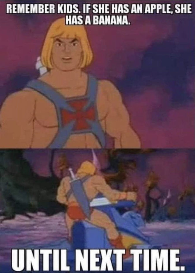 He man explains - meme